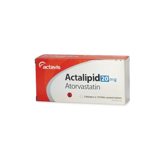 ACTALIPID 20 MG 10 TABLET