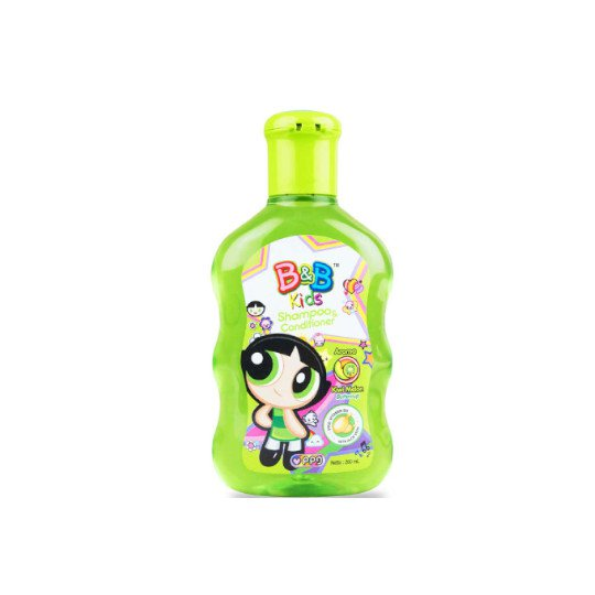 B&B KIDS SHAMPOO & CONDITIONER KIWI MELON 200 ML