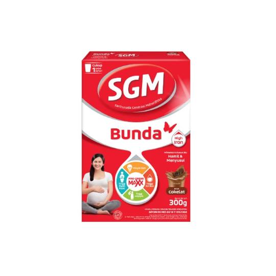 SGM Bunda Complinutri Coklat Susu Bubuk Khusus Ibu Hamil & Menyusui 300 g