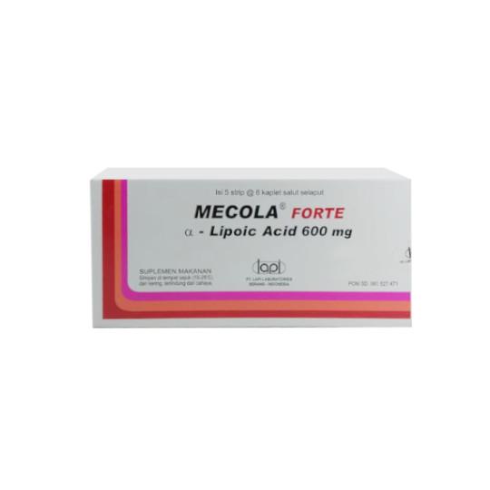 MECOLA FORTE 600 MG 6 KAPLET