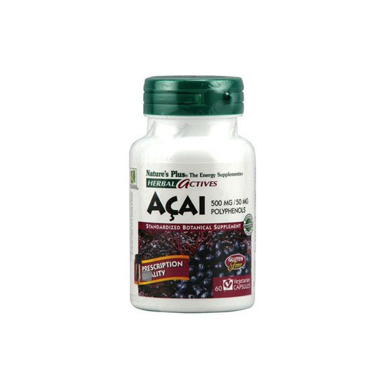 NATURE'S PLUS ACAI 500MG 60 KAPSUL
