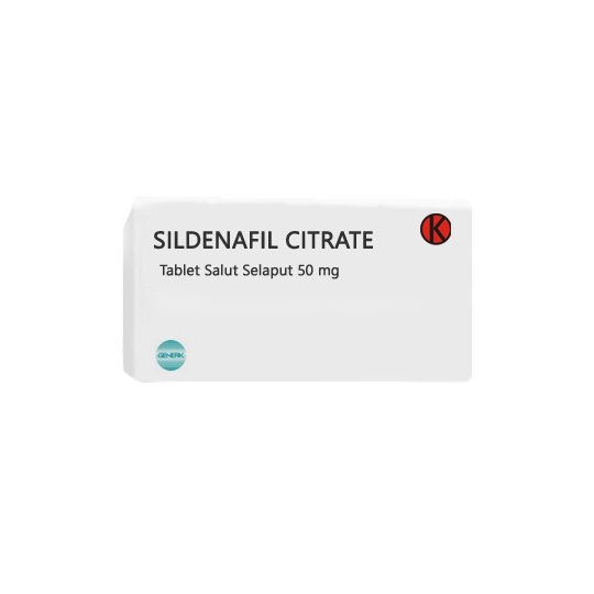 SILDENAFIL CITRATE 50 MG 4 TABLET