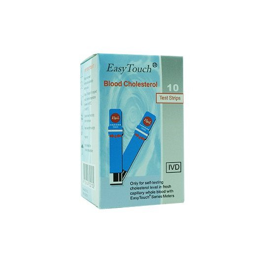 Easy Touch Cholesterol 2 Box @ 10 Test Strips - Obat Rutin