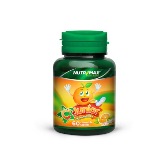 NUTRIMAX C PLUS JUNIOR WITH PHYTOGREEN 60 TABLET KUNYAH