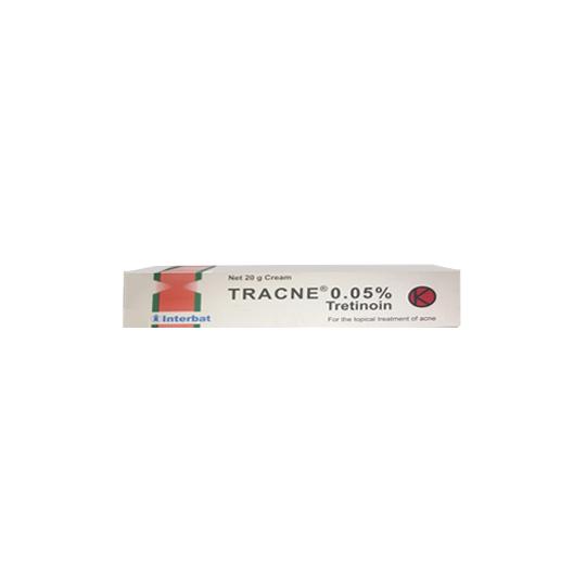 TRACNE 0.05 CREAM 20 GR