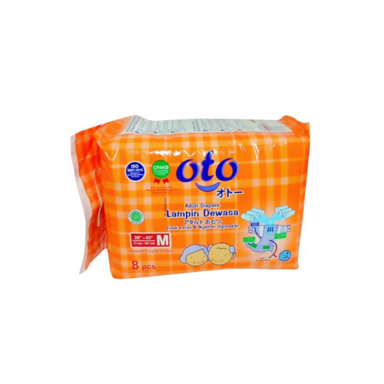 OTO ADULT DIAPERS M 8 PIECES