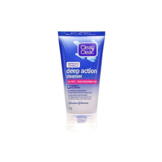 CLEAN & CLEAR DEEP ACTION CLEANSER 50 G
