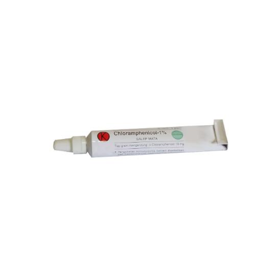 Chloramphenicol 1% Salep Mata 3.5 g
