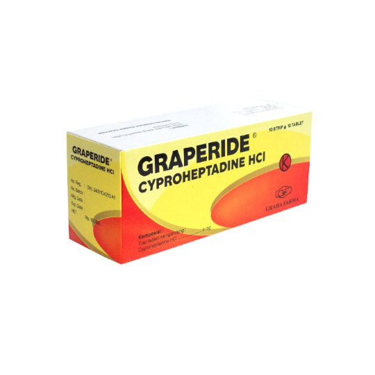 GRAPERIDE 4 MG 10 TABLET