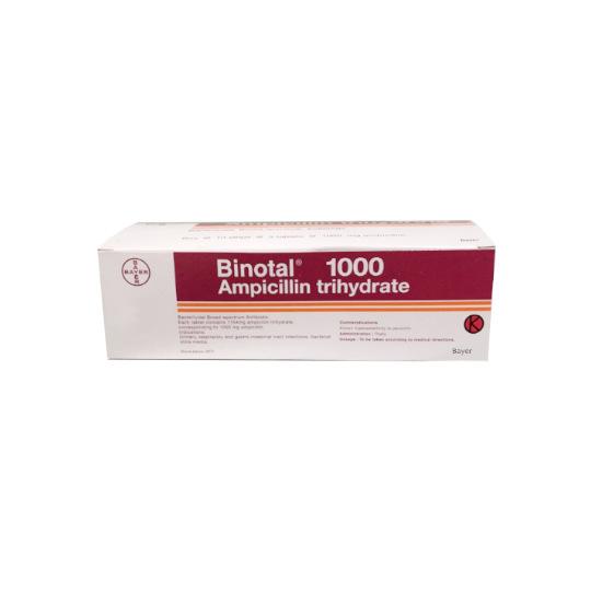 BINOTAL 1000 MG 5 TABLET