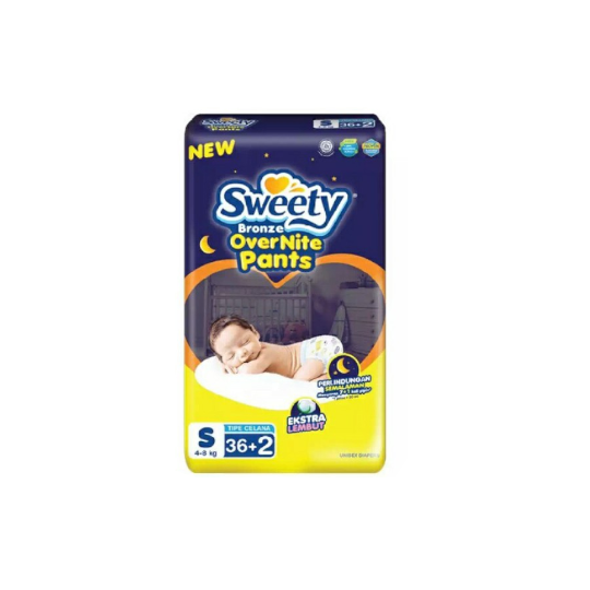 Sweety Bronze Overnite Pants XL 26 Pads