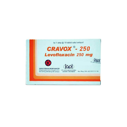 CRAVOX 250 MG 10 TABLET