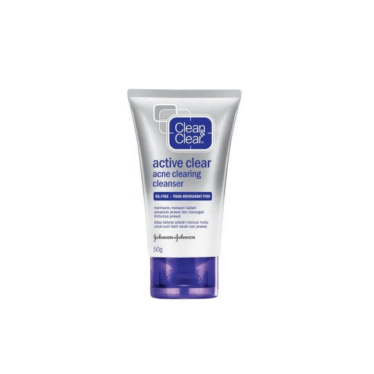 CLEAN & CLEAR ACNE CLEARING CLEANSER 50 ML