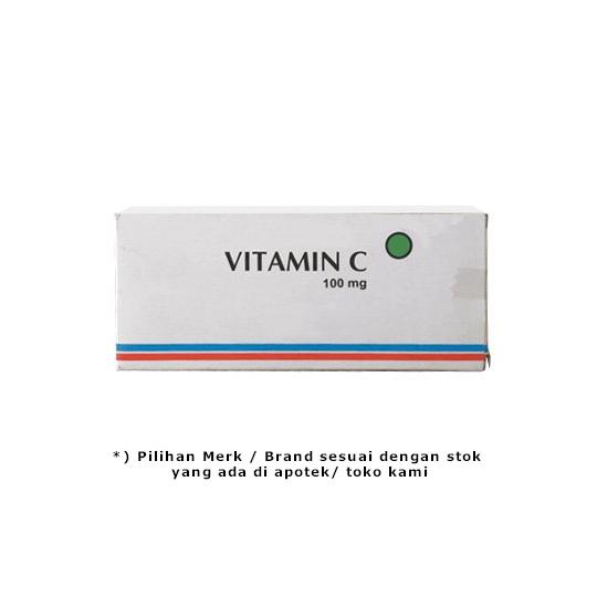 VITAMIN C 100 MG 10 TABLET