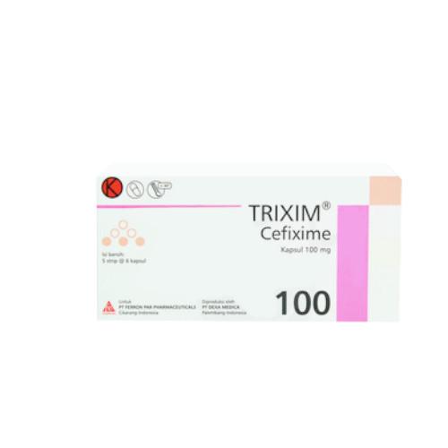 TRIXIM 100 MG 6 KAPSUL