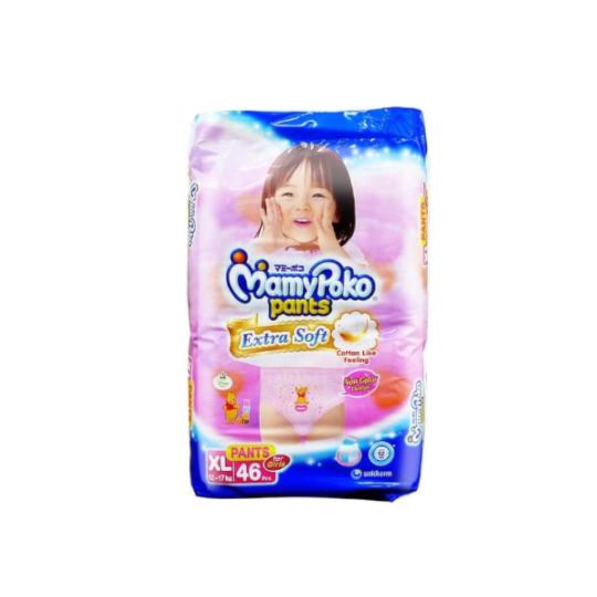 Mamy Poko Pants Extra Soft Girls XL 46 Pieces
