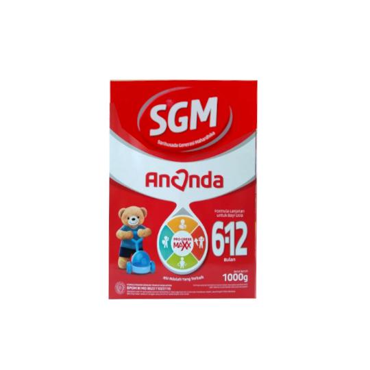 SGM Ananda 2 (6-12 Bulan) Formula Bayi Bubuk 1000 g