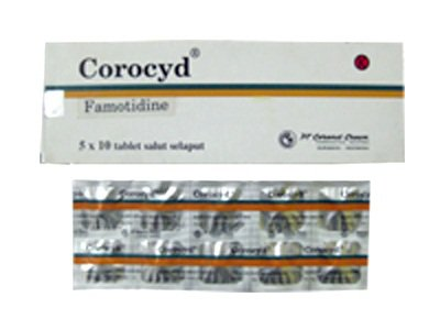 COROCYD TABLET 40 MG
