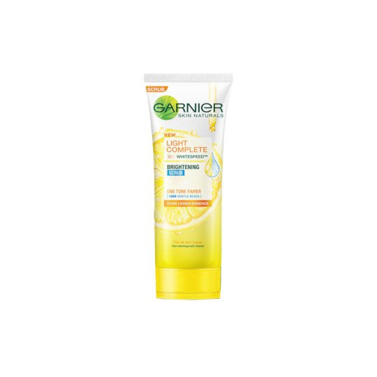 GARNIER LIGHT COMPLETE SCRUB 100 ML
