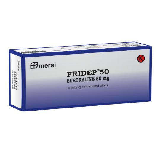 Fridep 50 mg 10 Tablet
