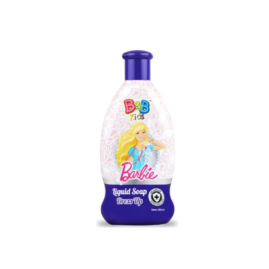 B&B KIDS BARBIE LIQUID SOAP DRESS UP 250 ML