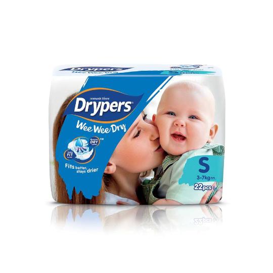 Drypers Wee Wee Dry S 22 Pads