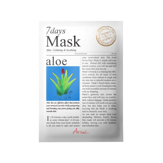 ARIUL 7 DAYS MASK ALOE 20 GR