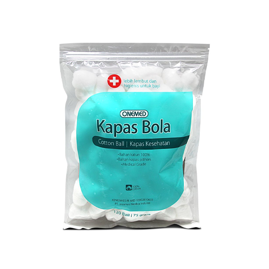 Onemed Kapas Bola 120 Pieces (75 g)