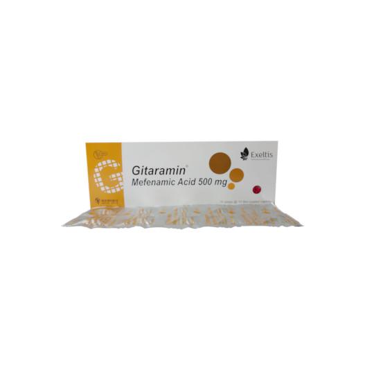 Gitaramin 500 mg 10 Tablet