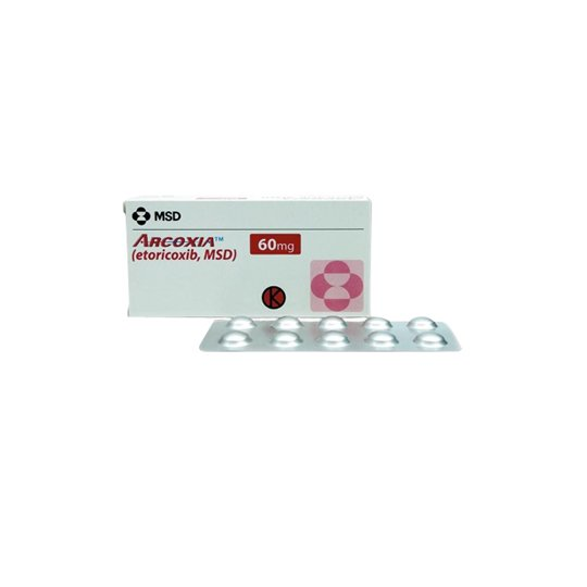 ARCOXIA 60 MG 10 TABLET