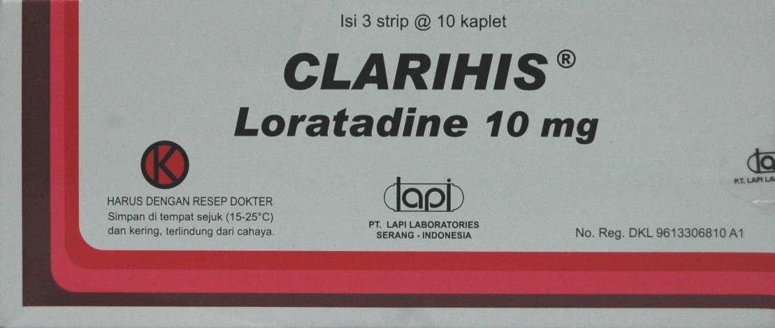 CLARIHIS 10 MG 10 TABLET