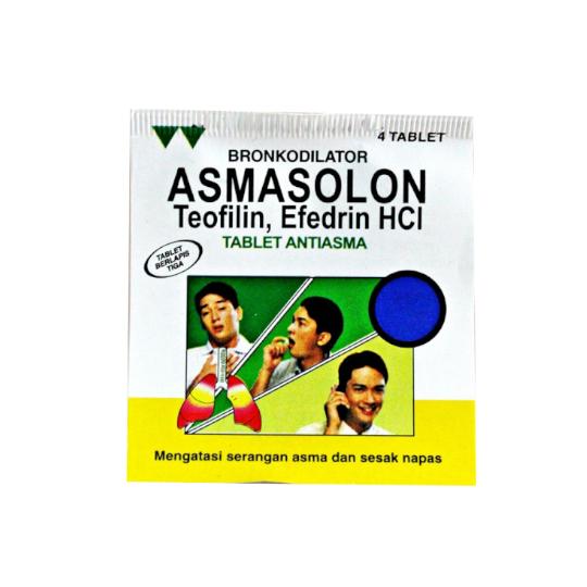 Asmasolon 4 Tablet