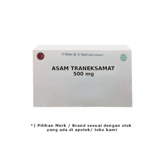 ASAM TRANEKSAMAT 500 MG 10 TABLET
