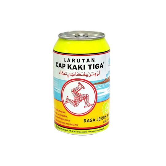 Larutan Cap Kaki Tiga Jeruk Nipis 320 ml