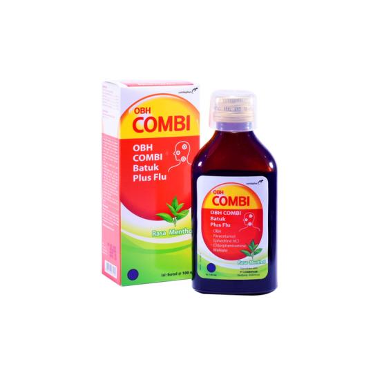 OBH COMBI PLUS BATUK FLU MENTHOL 100 ML