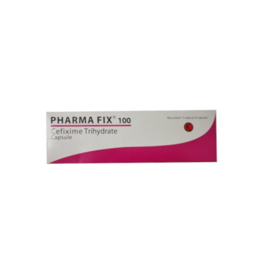 PHARMA FIX 100 MG 10 KAPSUL