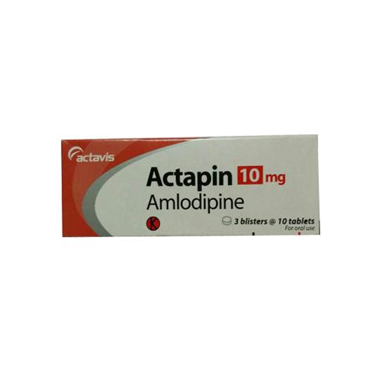 ACTAPIN 10 MG 10 TABLET