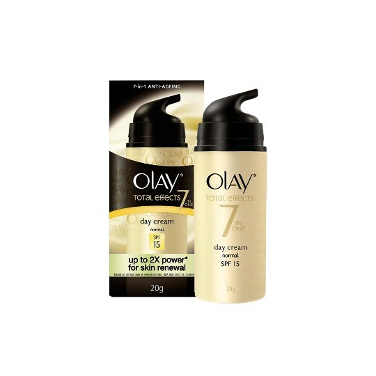 OLAY TOTAL EFFECTS ANTI AGEING NORMAL DAY CREAM SPF 15 20 G
