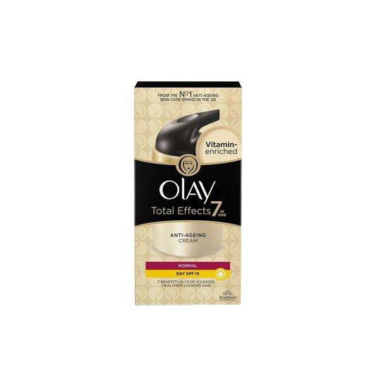 OLAY TOTAL EFFECTS ANTI AGEING NORMAL DAY CREAM SPF 15  50 G