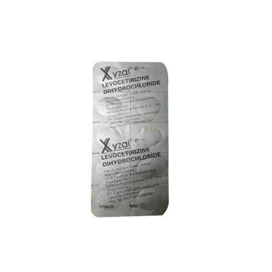 XYZAL 5 MG 10 TABLET