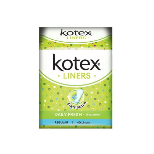 KOTEX FRESH LINER SCENTED 40 PADS