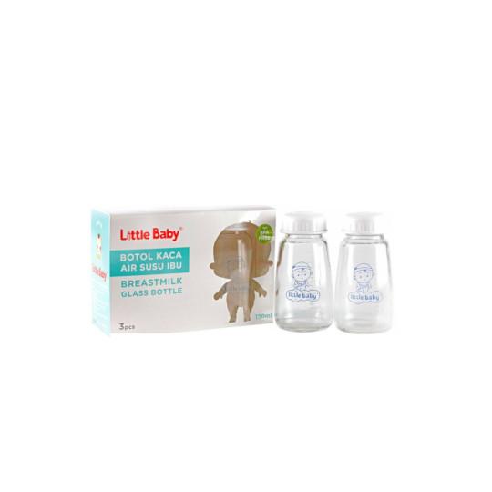 Little Baby Botol Kaca Asi 3 Pieces