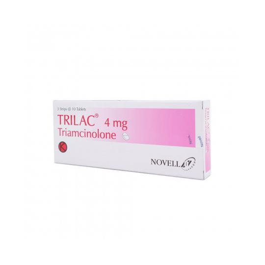 TRILAC TABLET 4 MG