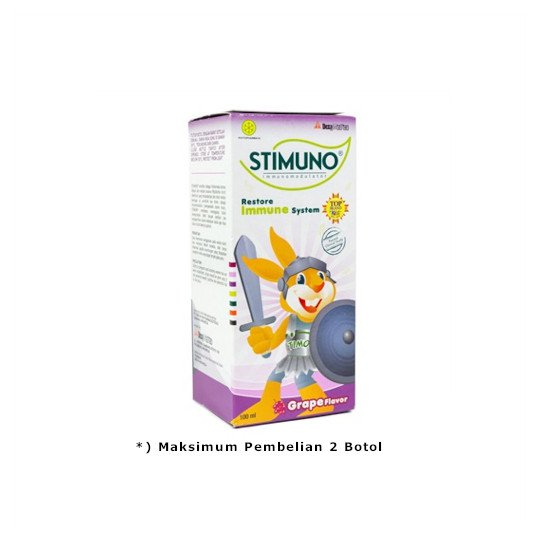 STIMUNO SIRUP RASA ANGGUR 100 ML