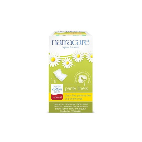 NATRACARE PANTY LINERS NORMAL 18 PADS