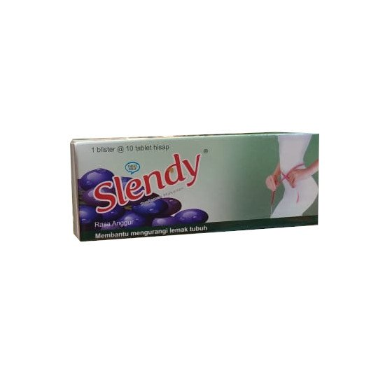 SLENDY RASA ANGGUR 10 TABLET
