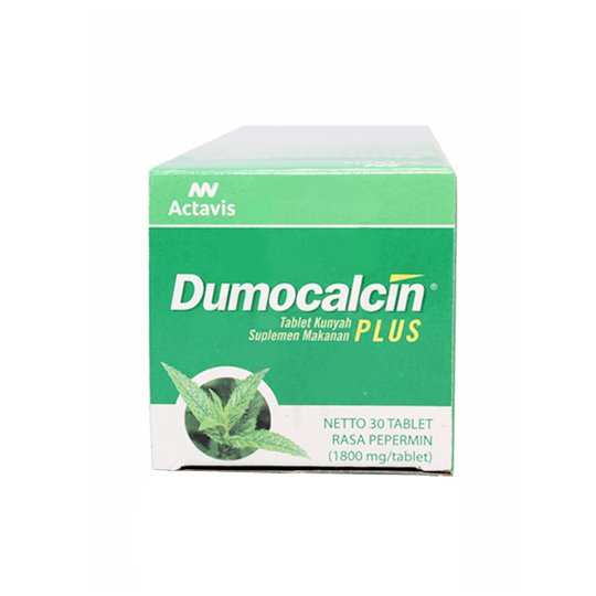 DUMOCALCIN PLUS PEPPERMINT 30 TABLET