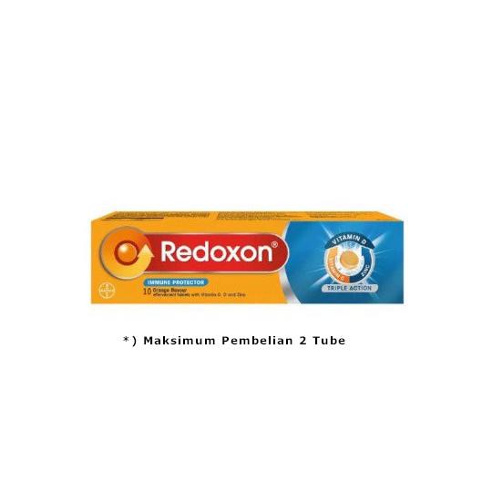 REDOXON TRIPLE ACTION EFFERVESCENT 10 TABLET