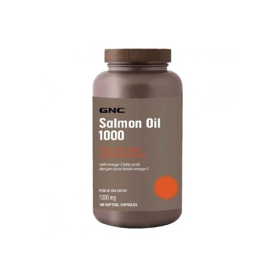 GNC SALMON OIL 1000MG 180 KAPSUL