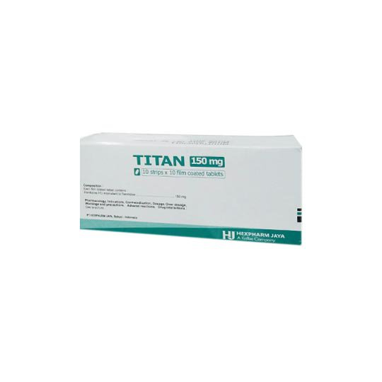 TITAN 150 MG 10 TABLET